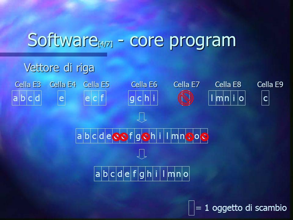Software[4/7] - core program